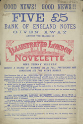 Advert for the Illustrated London Novelette